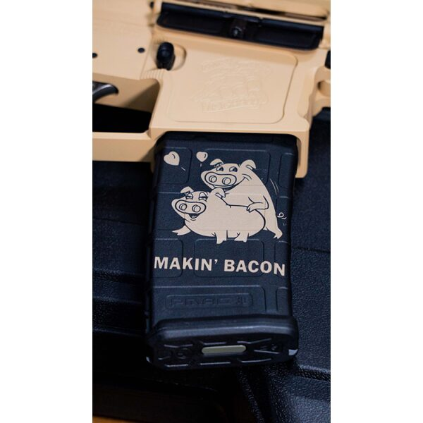 Making Bacon Magazine Decal
