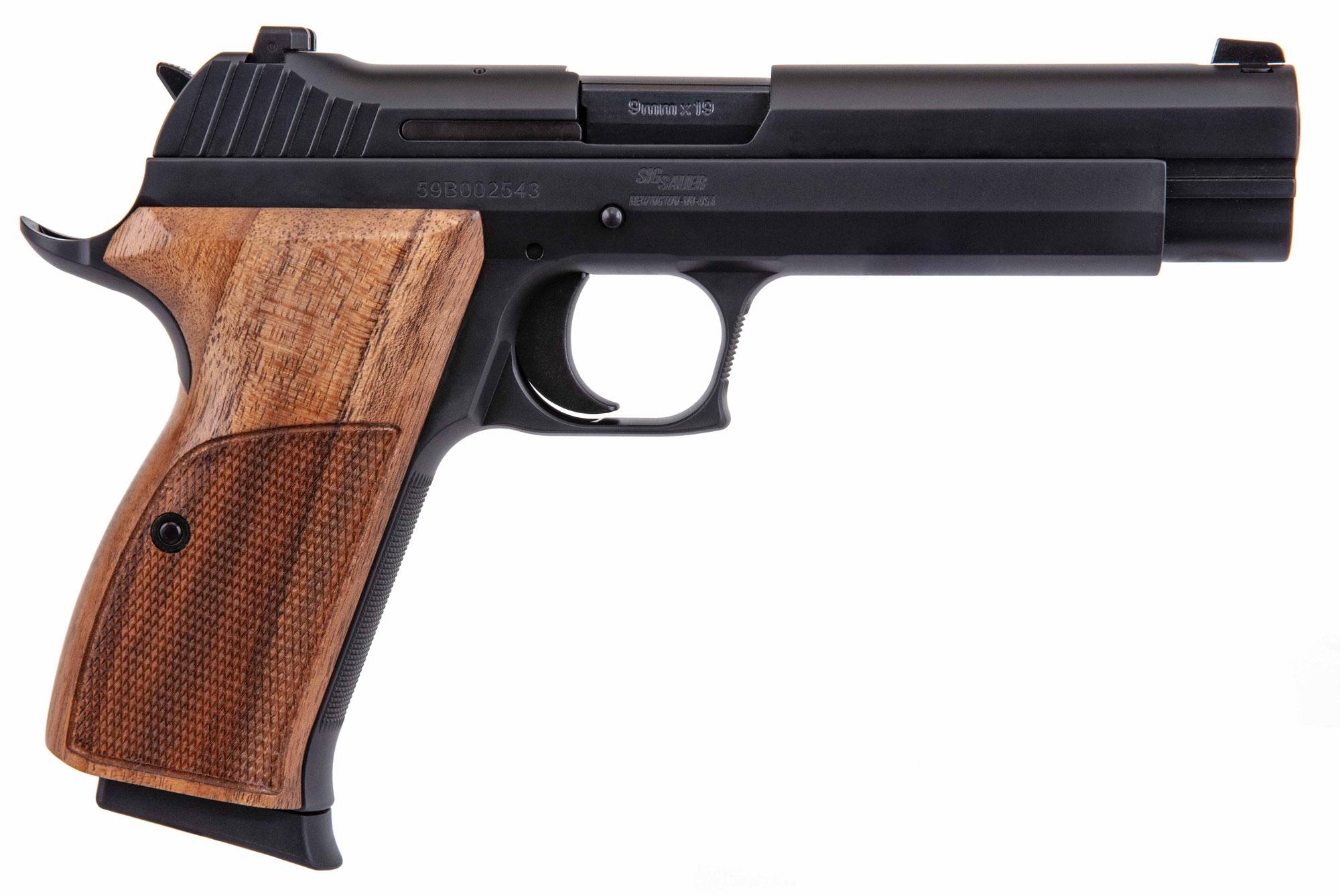 Sig Sauer P210 SAO 9mm Handgun