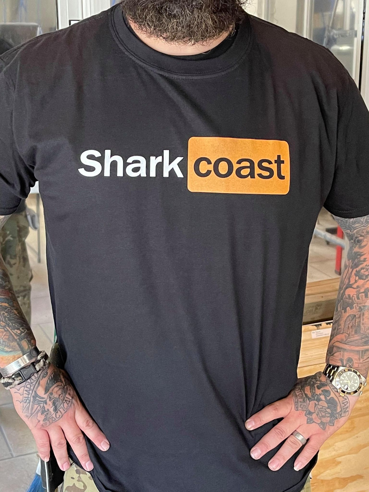 Shark Coast Tshirt