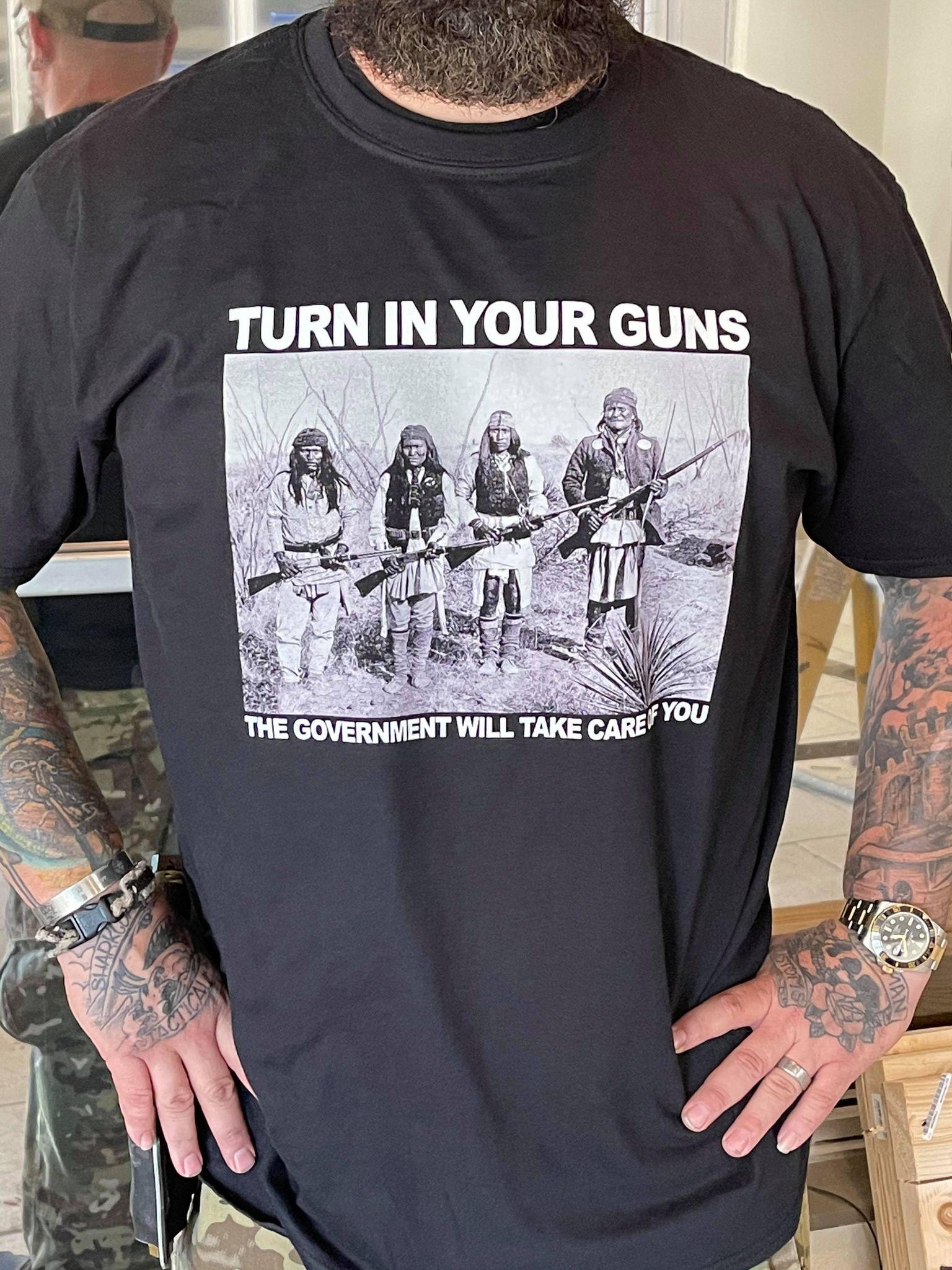 Geronimo tshirt