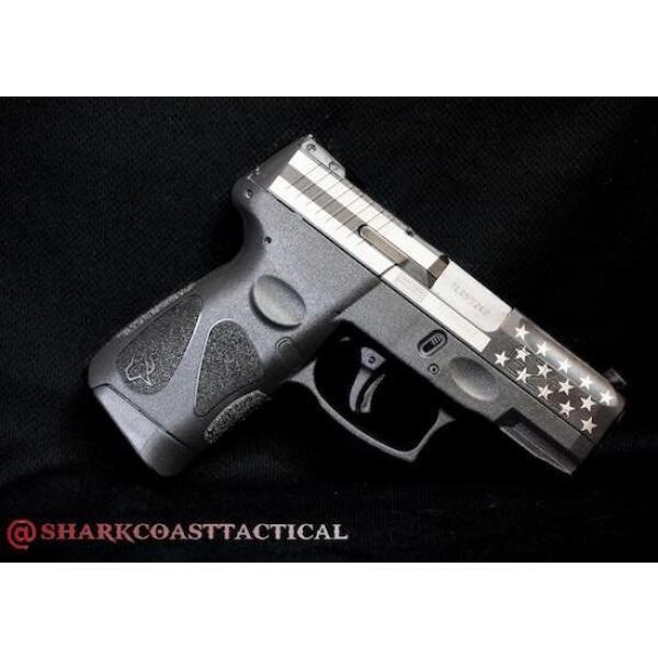 right side of taurus handgun