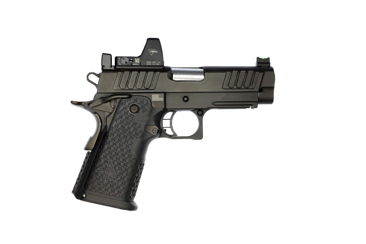 Staccato C2 Duo Handgun with sight attachment