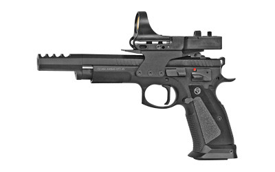 CZ 9mm handgun with sight attachement