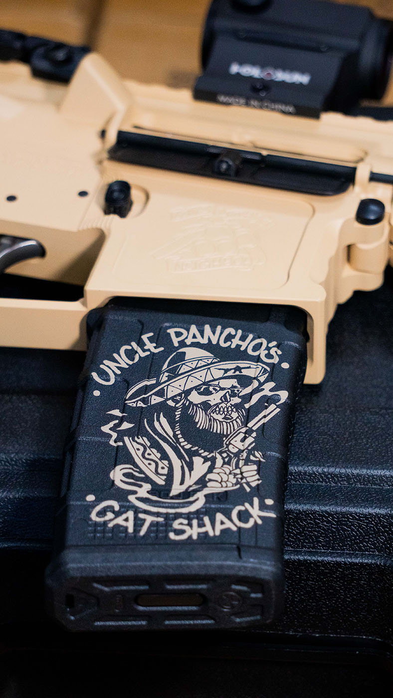 Uncle Pancho's Gat Shack Magazine