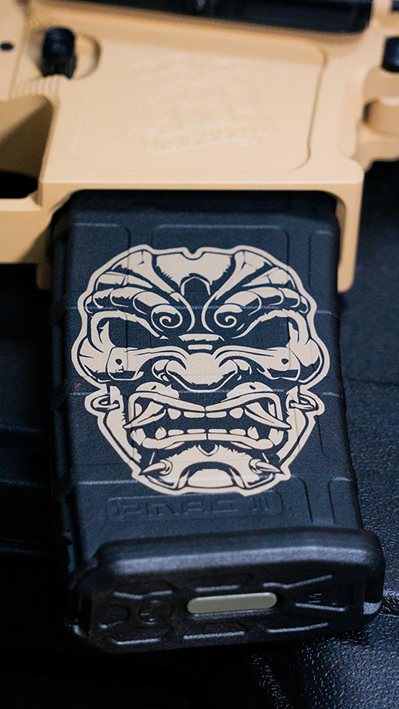 Oni Mask Magazine