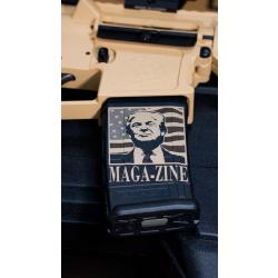 MAGA-zine decal on magazine