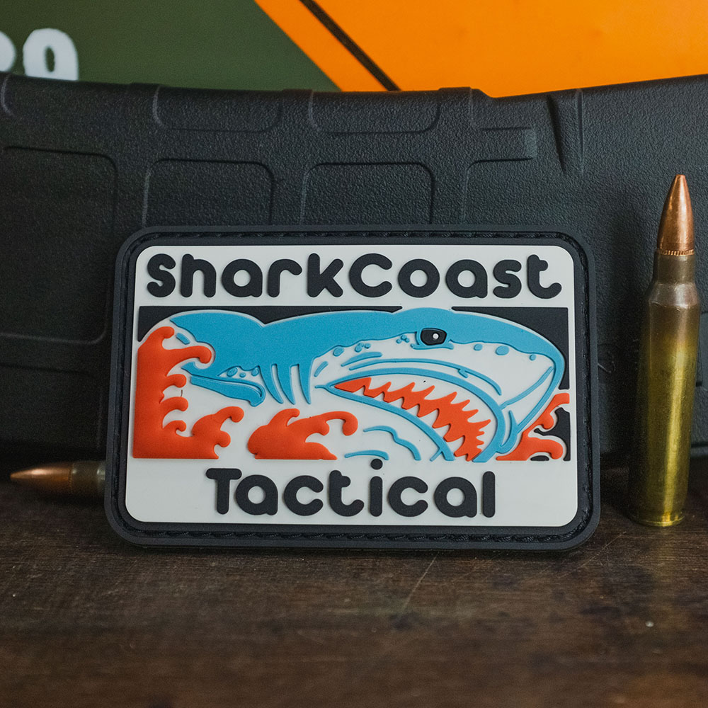 Shark Coast Tactical Patch
