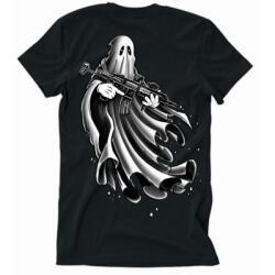Shark Coast Ghost Gunner tshirt