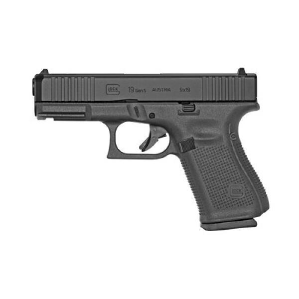 black glock handgun