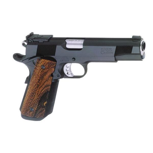 .45 caliber handgun