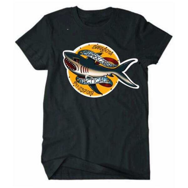 Shark Coast Traddy Daddy Tshirt