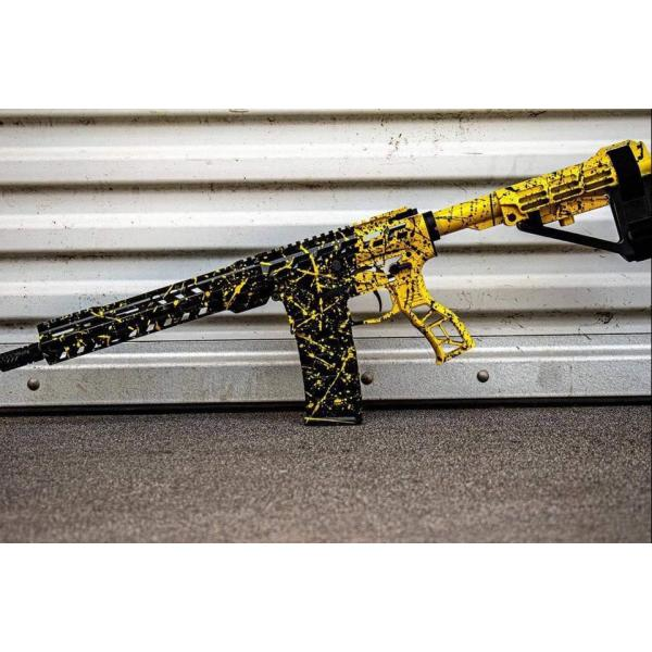 War God Assault Riffle in Black and Yellow